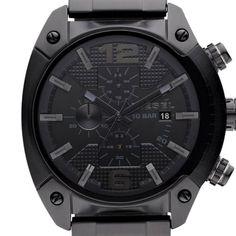 Diesel Herren-Armbanduhr OverFlow Chronograph Quarz Edelstahl beschichtet DZ4223 | Schmuckles