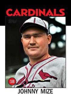 St Louis Baseball, St Louis Cardinals Baseball, Stl Cardinals, Sports Baseball, Baseball Cards, Mlb Players, Baseball Players, New York Giants, New York Yankees