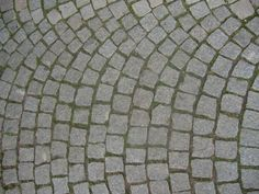cobblestone for the family room side of the house. Cobblestone Walkway, Garden Art, Home And Garden, English Tudor, Medieval Life, Sticks And Stones, Walkways, William Morris, House Front