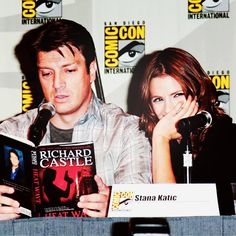 Nikki Heat (via Jennifer Halahurich) [Castle tv co-stars at ComicCon.]