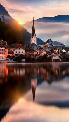 Hallstatt, one of my favorite places Places Around The World, Travel Around The World, Around The Worlds, Places To Travel, Places To See, Travel Destinations, Holiday Destinations, Wonderful Places, Beautiful Places