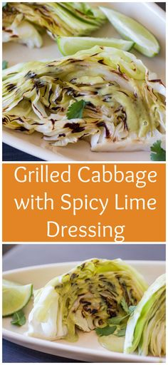 Grilled Cabbage with Spicy Lime Dressing for from Sew You Think You Can Cook Sunday Recipes, Supper Recipes, Side Dish Recipes, Grilling Recipes, Meat Recipes, Cooking Recipes, Healthy Recipes, Sauce Recipes, Grilled Cabbage