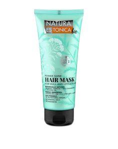Μάσκα μαλλιών Power Shine για θαμπά και άτονα μαλλιά.  Ο συνδυασμός εκχυλίσματος βιολογικής αχιλλέας, εκχυλίσματος βιολογικού κράνμπερι και ελαίου γιασεμιού χαρίζει στα μαλλιά τόνωση, εκθαμβωτική λάμψη και ανάλαφρο όγκο, ενυδατώνοντας και αναδομώντάς τα από τις ρίζες ως τις άκρες. Glow Mask, Masks, Hair, Whoville Hair, Face Masks