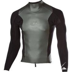 Hurley Freedom 201 Wetsuit Jacket – Men's Cinder