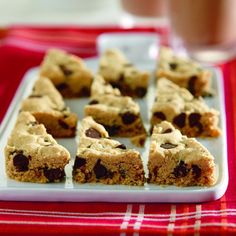 Chunky Peanut Butter Triangles