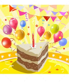 Happy Birthday Card Template Free Vectors Birthday