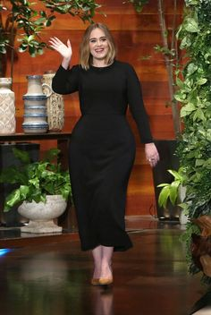 Adele on the Ellen Degeneres  show.