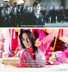 HP is way too good for the likes of Katy Perry, but this is funny once I understood what was going on - ish...