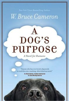 Well, it was hard to pick a favorite book because I have so many. I finally decided on my favorite non-series book, A Dog's Purpose by W. Bruce Cameron. I love it for several reasons: 1) I'm a dog lover, so this book is perfect; 2) it has an incredible storyline; 3) it is written from the point of a dog, who is reincarnated until he finds his purpose. I recommend it to all of you.