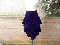Free Shipping  One of a kind handmade vintage 80s purple by IL2C