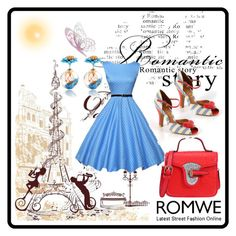 """Romwe 7"" by dinka1-749 ❤ liked on Polyvore featuring Office"