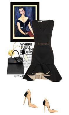 """Little black dress"" by theitalianglam ❤ liked on Polyvore featuring Charlotte Olympia, Aleksander Siradekian, Antonio Berardi, Chanel, women's clothing, women's fashion, women, female, woman and misses"