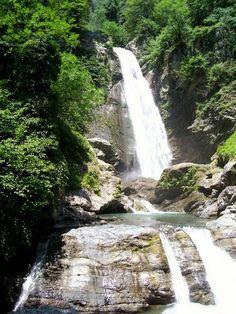 Ninoskhevi Wasserfall
