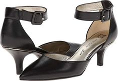 Anne Klein Womens Fabulist Leather Black 7 M US *** Details can be found by clicking on the image. (This is an affiliate link)
