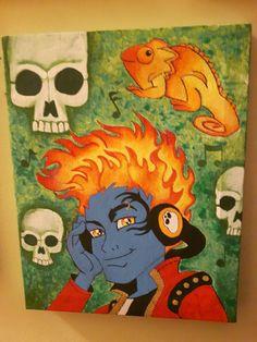 Holt hyde fan art by Sara Seibel