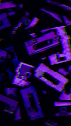 Vaporwave Wallpaper Phone Ideas - Best of Wallpapers for Andriod and ios Dark Purple Aesthetic, Violet Aesthetic, Aesthetic Colors, Aesthetic Collage, Aesthetic Pictures, Music Aesthetic, Aesthetic Vintage, Purple Aesthetic Background, Aesthetic Painting