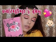 my brows are so bad in this but i think the vid was p funny! hope you enjoy this Makeup Tutorial: Pink Glam Valentines Day Makeup Look video. happy early n. Mean Girls Burn Book, Esqido Lashes, Huda Beauty Lip, Storybook Cosmetics, Shape Tape Contour Concealer, Glam Makeup, Face Makeup, Priming Moisturizer, Day Makeup Looks