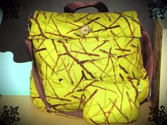 Mamooth Bag- Green branches on Etsy, $65.95 CAD