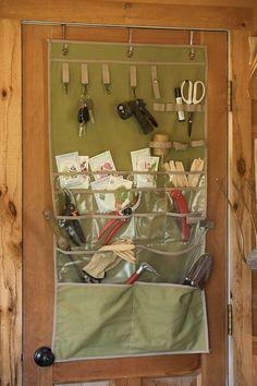 44 Smart Garden Shed Organization Ideas - Garden Tool Shed Organizing, Storage Shed Organization, Garden Storage Shed, Garden Yard Ideas, Garden Tools, Garden Gear, Garden Sheds, Shed Design, Home Design