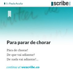 Check it out www.wescribe.co Scribe is social writing platform for authors and readers to share texts and expand their audiences. Scribe, Check It Out, Authors, Tv Shows, Platform, Writing, Top, Cry, Reading