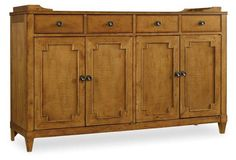 """Lucy 60"""" Sideboard, Natural"""