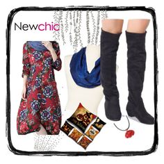 """""""halloween is coming with NewChic"""" by semrasubasic ❤ liked on Polyvore featuring Rapti, chic, New and newchic"""