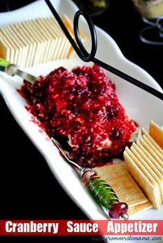 cranberry cream cheese appetizer