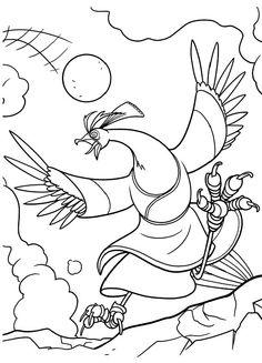 Guarda tutti i disegni da colorare di Kung Fu Panda www.bambinievacanze.com