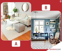 Which Kind Of Decor Would You Like For Your Living Room?