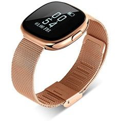 Stainless Steel, TOM TONY fitness tracker, Blood pressure monitor activity wristband, Heart rate monitor smart bracelet for Step, Distance, Calories track, Sleep monitor, Pedometer and more *** Continue to the product at the image link. (This is an affiliate link) #Accessories