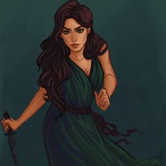 Someone awesome created this art as a character but all I see is Spirit!!! Lysandra by dianulala