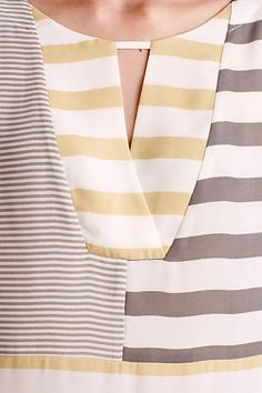 Madrigal Stripe Top - anthropologie.com