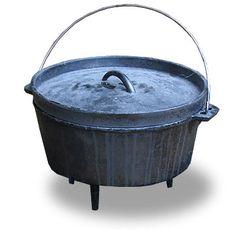 Dutch Oven, schon im Wilden Westen das Kochutensil der Wahl. Mit diesem Gusseisernen Topf kann gekocht und gebacken werden. Die Rezepte dafür sind Zahlreich