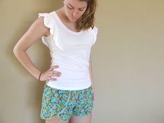 Mish Mash Made: Coachella Shorts