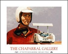 Jim Hall - Official Chaparral Gallery Opening Poster
