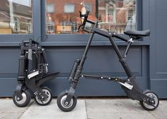 """Clive Sinclair launches """"world's lightest and most compact electric bike""""."""