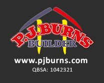PJ Burns Builder Queensland Logo
