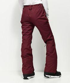 Billabong Malla Burgundy 10K Snowboard Pants