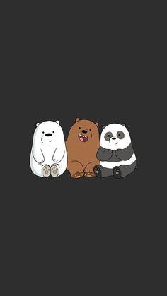 We Bear Bears wallpapers iPhone 23 high-definition ♪-We Bare Bears . Cute Panda Wallpaper, Disney Phone Wallpaper, Cartoon Wallpaper Iphone, Bear Wallpaper, Kawaii Wallpaper, Cute Wallpaper Backgrounds, Galaxy Wallpaper, Wallpaper Quotes, Walpaper Iphone