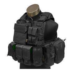 Flyye Force Recon Vest with Pouch Set ver. Tactical Vest, Tactical Clothing, Armor All, Body Armor, Military Armor, Military Gear, Paintball, Molle Vest, Emergency Response Team