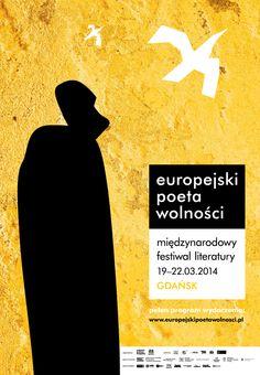Festiwal Europejski Poeta Wolności 2014 / European Poet of Freedom Festival 2014, projekt/design: Anita Wasik