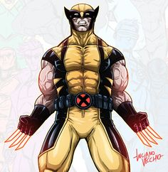 Wolverine by LucianoVecchio on DeviantArt X Men Personajes, Marvel Characters, Fictional Characters, I Really Love You, Spider Gwen, Bruce Banner, Wolverine, Marvel Universe, User Profile
