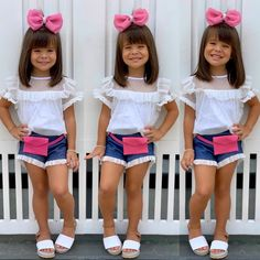 Cute Little Girl Dresses, Dresses Kids Girl, Kids Outfits Girls, Cute Girl Outfits, Little Girl Outfits, Cute Little Girls, Dress For Girl Child, Kids Dress Wear, Baby Dress