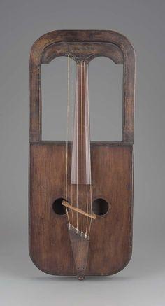 Fiddle (crwth) | Owain Tudur, Welsh, active 19th century