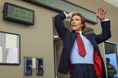 Leonard Logsdail also dressed Matthew McConaughey for his role in 'The Wolf of Wall Street.'