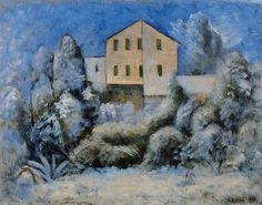 Carlo Carrà - Snowfall Snow Art, Italian Painters, Futuristic, Landscape, Artist, Pictures, Angels, Paintings, God