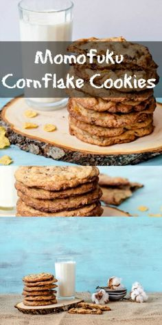 Momofuku Milk Bar Cornflake Cookies - adapted after a recipe by Christina Tosi…