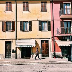 A bright sun shinning day in our teeny tiny town #Piobbico #Italy