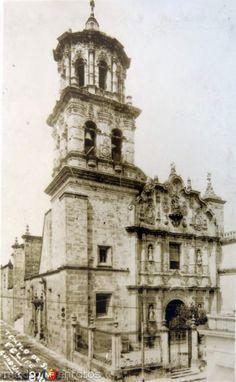 Fotos de Guadalajara, Jalisco, México: Templo de San Felipe hacia 1930-1950