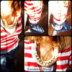 Handmade necklace from Enislidou Maria.